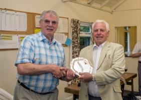 The Haywood plate winner John Hall