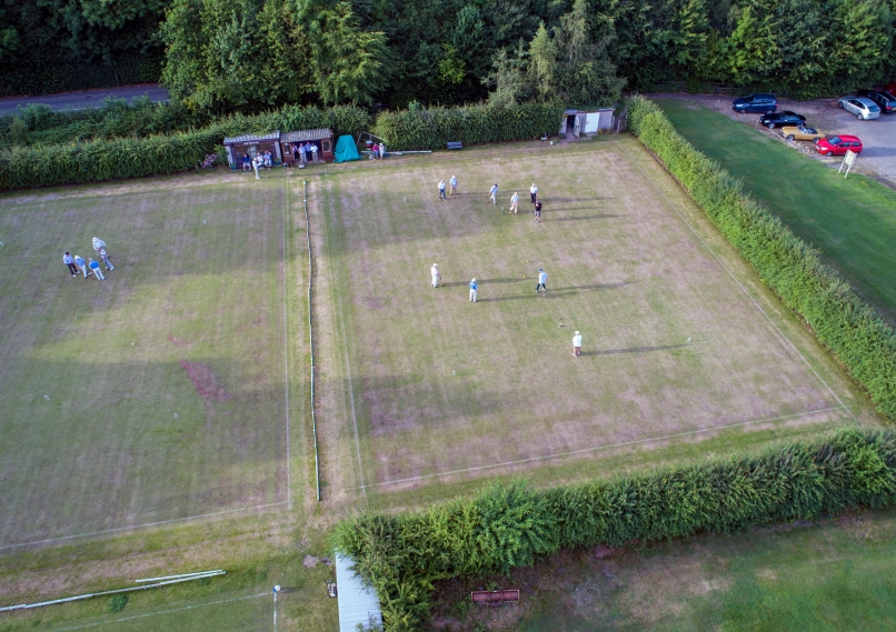 Croquet from above